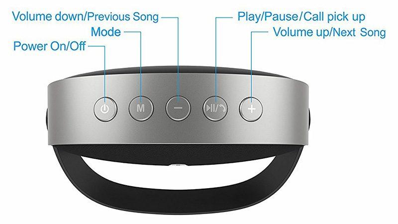 Loa Bluetooth W-King T6 Chính Hãng | Âm Thanh Hay - Chất Lượng Tốt 11