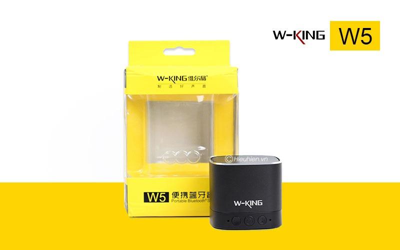 danh gia w-king w5 loa bluetooth khong day di dong chinh hang, gia re 12
