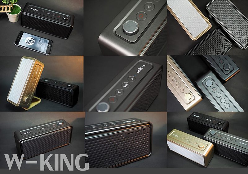Loa Bluetooth W-King X9 - Công suất 20W, âm thanh cao cấp, bass cực mạnh 13