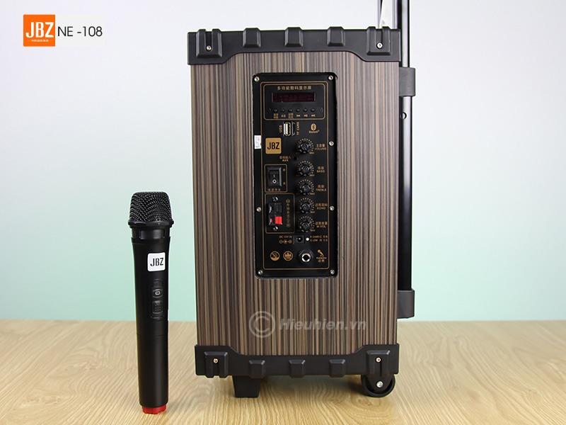 loa keo di dong jbz ne-108 hat karaoke moi luc moi noi 01