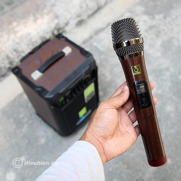 Loa kéo Karaoke SOK NE-502 120W 06