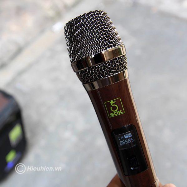 Loa kéo Karaoke SOK NE-502 120W 07