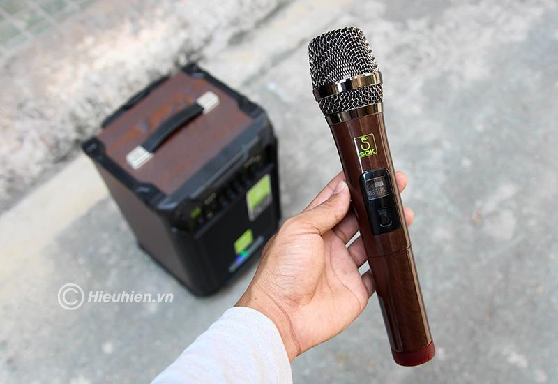 loa keo di dong sok ne-502 120w, hat karaoke cuc hay 16