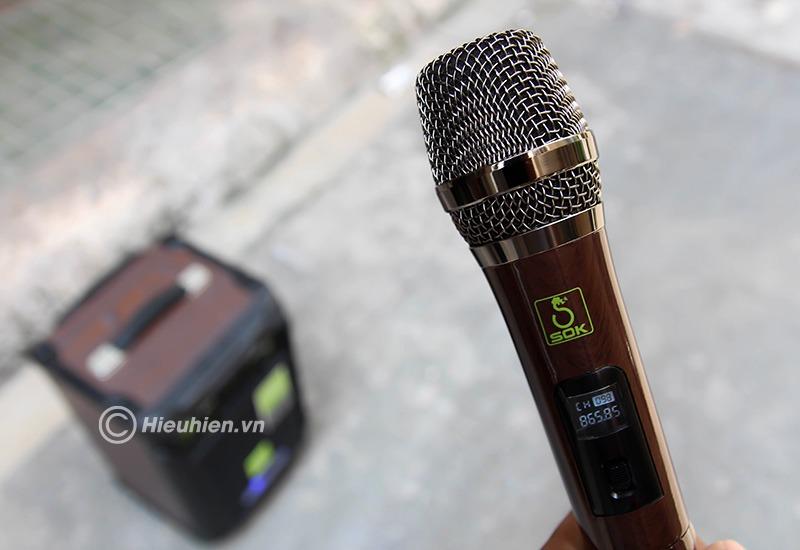 loa keo di dong sok ne-502 120w, hat karaoke cuc hay 17