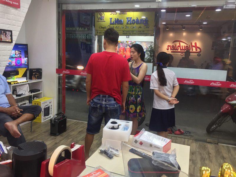 loa xách tay hát karaoke w-king k3 cực hay - thiết kế đẹp - khách hàng 01