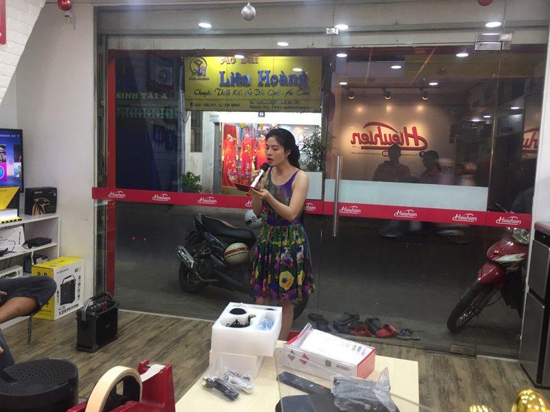 loa xách tay hát karaoke w-king k3 cực hay - thiết kế đẹp - khách hàng 07
