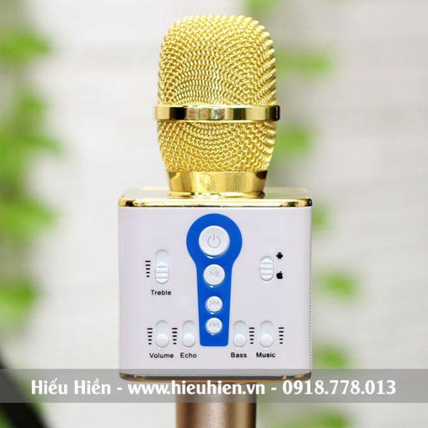 Mic Kèm Loa M1 Chính Hãng, Micro Hát Karaoke Bluetooth Cực Hay 01