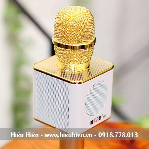 Mic Kèm Loa M1 Chính Hãng, Micro Hát Karaoke Bluetooth Cực Hay 03
