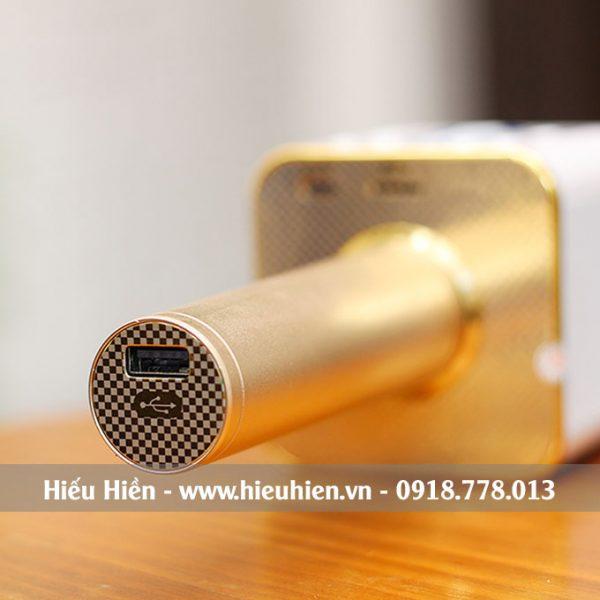 Mic Kèm Loa M1 Chính Hãng, Micro Hát Karaoke Bluetooth Cực Hay 06