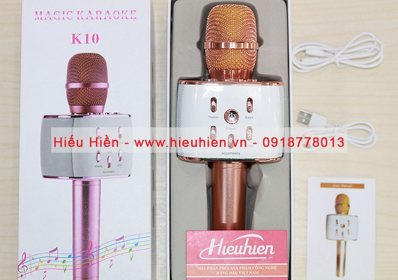mic hat karaoke magic k10