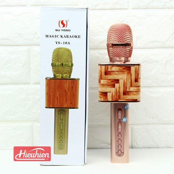 Magic Karaoke YS -10A - Micro Hát Karaoke Kèm Loa Bluetooth 04