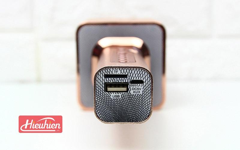 Magic Karaoke YS -10A - Micro Hát Karaoke Kèm Loa Bluetooth - cổng usb