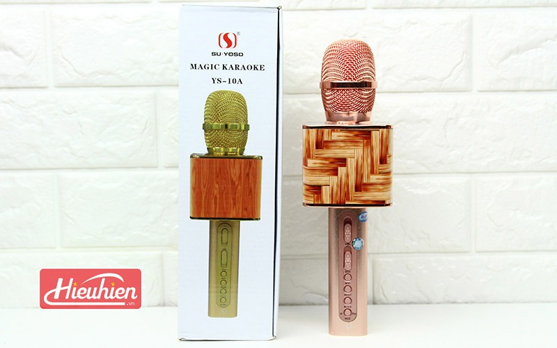 Magic Karaoke YS -10A - Micro Hát Karaoke Kèm Loa Bluetooth - full hộp