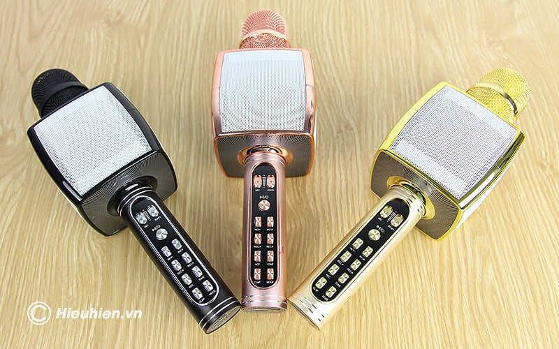 Magic Karaoke YS-91 - Micro Karaoke kèm Loa Bluetooth 3 trong 1 - thiết kế đẹp