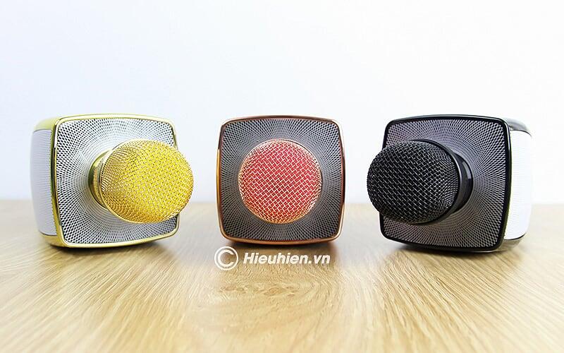 Magic Karaoke YS-91 - Micro Karaoke kèm Loa Bluetooth 3 trong 1 - đầu micro