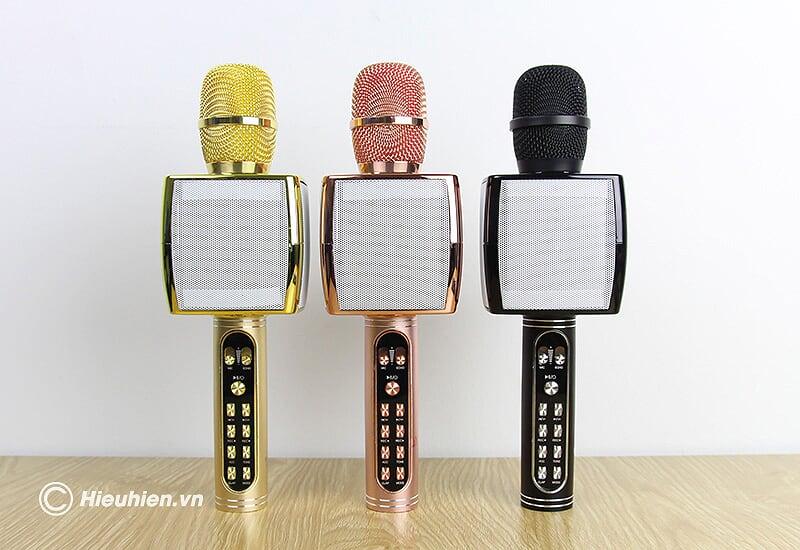 Magic Karaoke YS-91 - Micro Karaoke kèm Loa Bluetooth 3 trong 1 - 3 màu