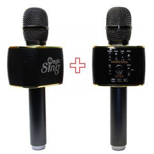 Combo 2 Mic Magicsing MP30 - Micro Karaoke Bluetooth tốt nhất hiện nay