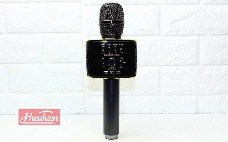 magic sing mp30 - micro karaoke bluetooth cao cấp, hát cực hay - mặt trước
