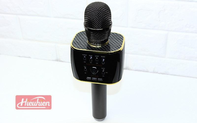 magic sing mp30 - micro karaoke bluetooth cao cấp, hát cực hay - mặt trên
