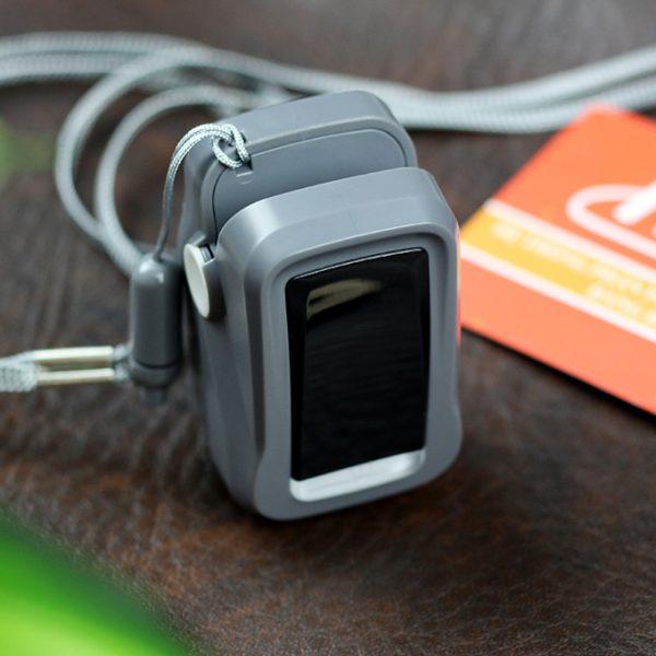 máy đo nhịp tim và nồng độ oxy trong máu fingertip pulse oximeter - hình 02