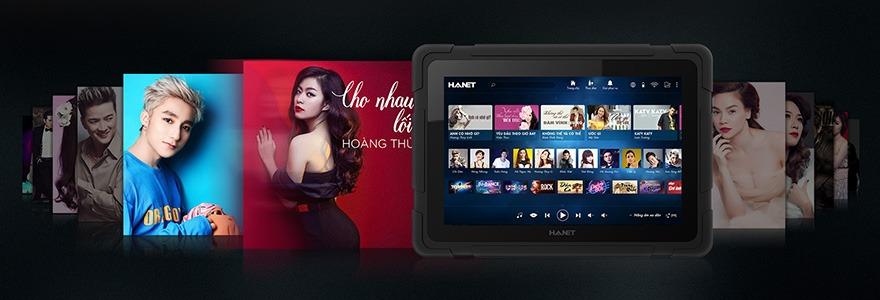 may tinh bang karaoke hanet smartlist 06