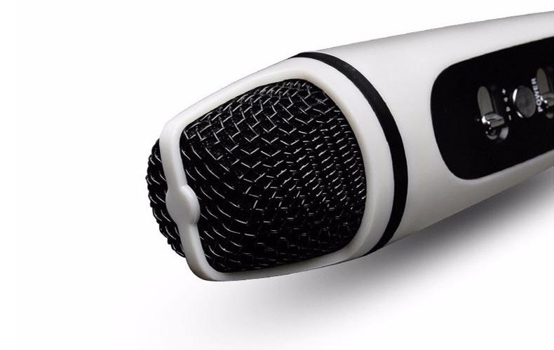 micro mini mc-091s: micro hat karaoke tren dien thoai, may tinh bang