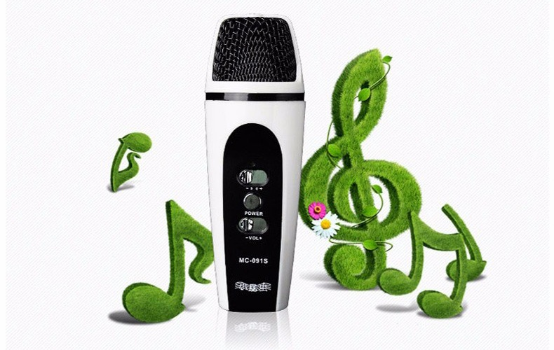 micro hat karaoke mini cho dien thoai mc-091s