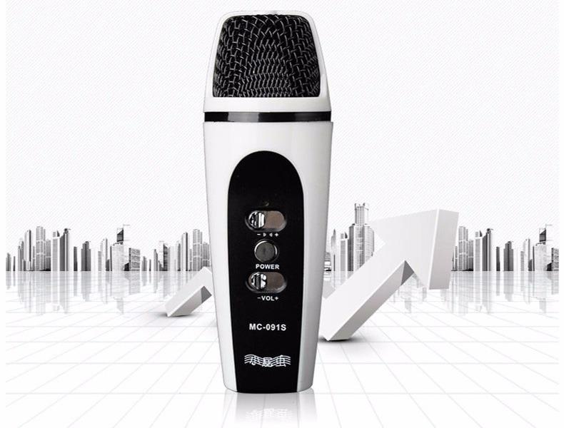 MC-091S: Micro mini hát Karaoke trên điện thoại, máy tính bảng