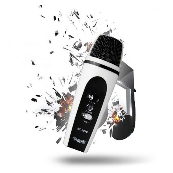 MC-091S - Micro hát Karaoke mini cho điện thoại, máy tính bảng 0