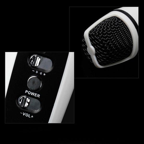MC-091S - Micro hát Karaoke mini cho điện thoại, máy tính bảng 03