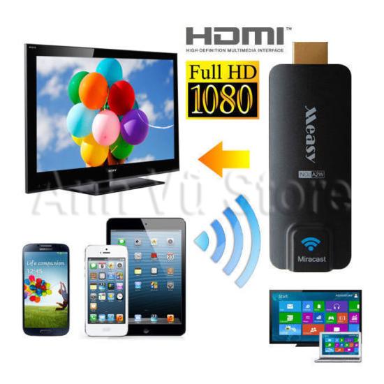Measy A2W Miracast Ezcast Dongle - Thiết bị HDMI không dây