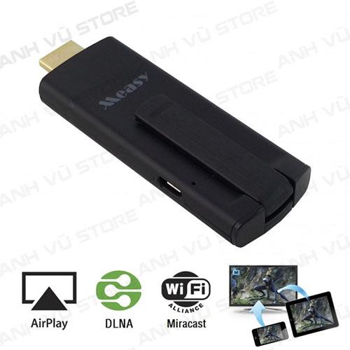measy a2w ii - hdmi không dây, wifi display, miracast, dlna, airplay