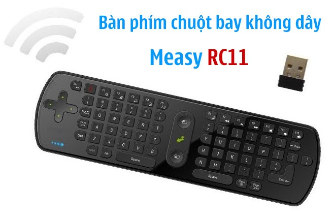 measy rc11 ban phim chuot bay khong day cho android tv box 01