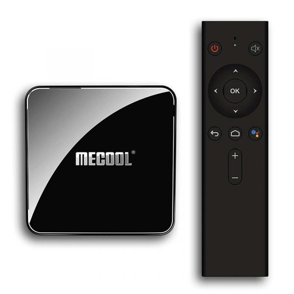 mecool km3 android tv 9.0, amlogic s905x2 4gb/64gb, có voice remote tìm kiếm bằng giọng nói - hình 02