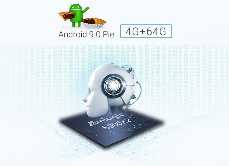 đánh giá mecool km3 android tv 9.0, amlogic s905x2 4gb/64gb, tìm kiếm bằng giọng nói - hình 02