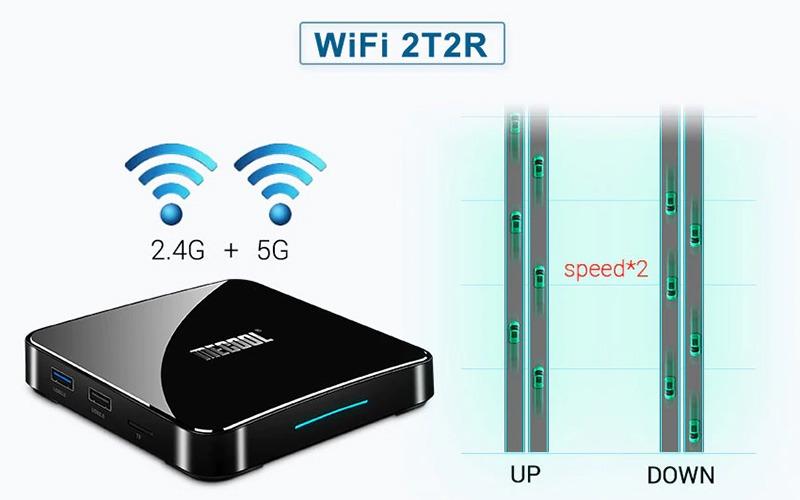 đánh giá mecool km3 android tv 9.0, amlogic s905x2 4gb/64gb, tìm kiếm bằng giọng nói - hình 03