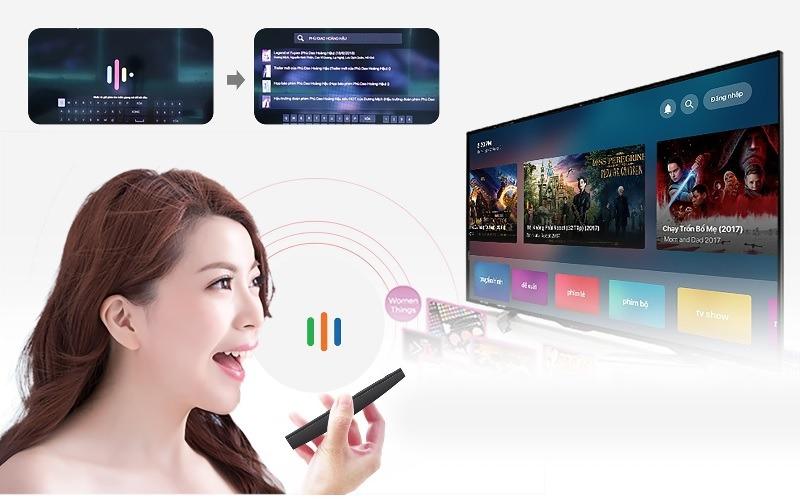 mecool km9 android tv 8.1, chip amlogic s905x2, 4gb/32gb, tìm kiếm bằng giọng nói - remote 1 chạm