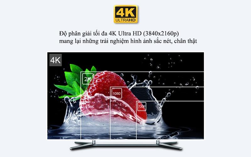 mecool km9 android tv 8.1, chip amlogic s905x2, 4gb/32gb, tìm kiếm bằng giọng nói - hình ảnh 4k