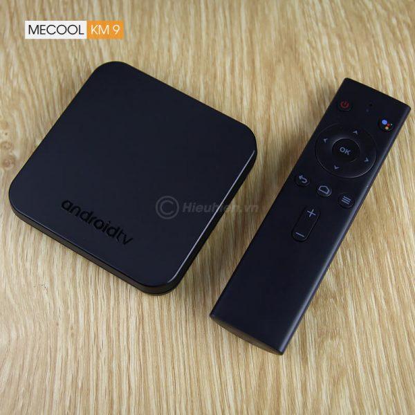mecool km9 android tv 8.1, chip amlogic s905x2, 4gb/32gb, tìm kiếm bằng giọng nói - hình 02