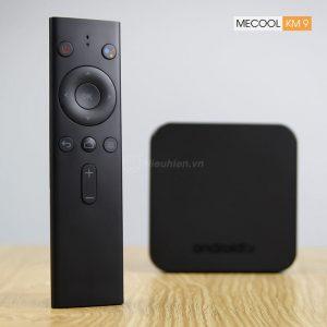 mecool km9 android tv 8.1, chip amlogic s905x2, 4gb/32gb, tìm kiếm bằng giọng nói - hình 03