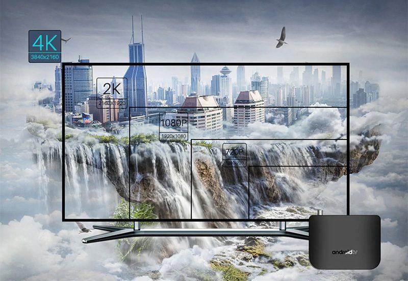 mecool m8s plus dvb-t2 s905d android 7.1 1gb/8gb tv box - hình ảnh 4k