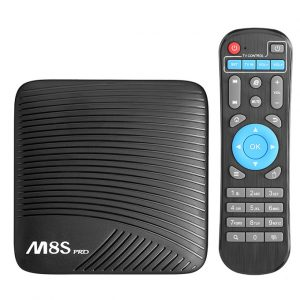 mecool m8s pro android 7.1 tv box, chip 8 nhân amlogic s912