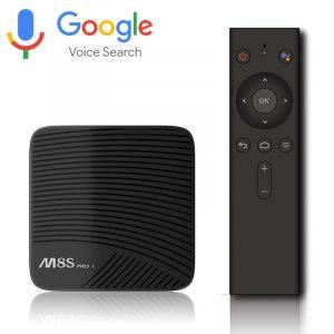 mecool m8s pro l atv 7.1, amlogic s912 3gb/32gb, voice remote tìm kiếm bằng giọng nói