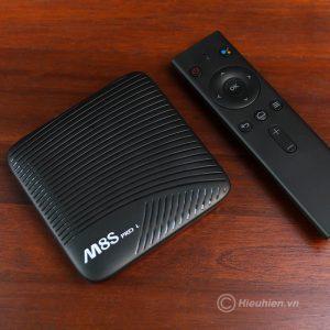 mecool m8s pro l atv 7.1, amlogic s912 3gb/32gb, voice remote tìm kiếm bằng giọng nói - hình 02