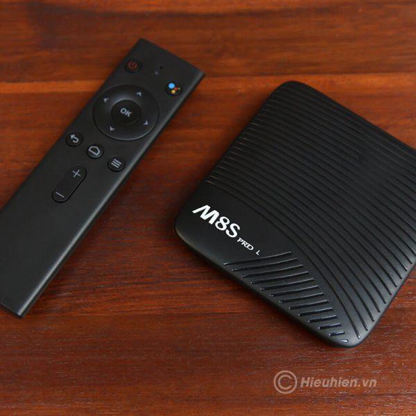 mecool m8s pro l atv 7.1, amlogic s912 3gb/32gb, voice remote tìm kiếm bằng giọng nói - hình 06