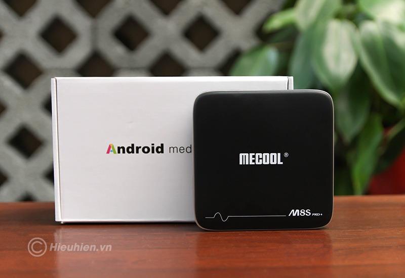 mecool m8s pro plus atv 7.1 s905w 2gb/16gb, có voice remote tìm kiếm bằng giọng nói - full box