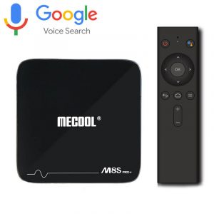 mecool m8s pro plus atv 7.1 s905w 2gb/16gb, có voice remote tìm kiếm bằng giọng nói