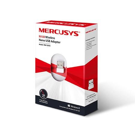 mercusys mw150us - bộ usb thu sóng wifi cực mạnh, tốc độ 150mbps - hình 02