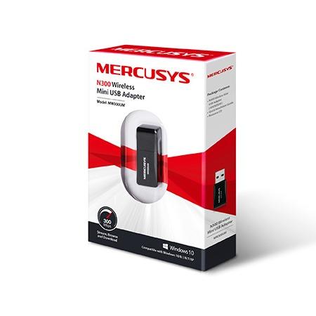 mercusys mw300um - bộ usb thu sóng wifi cực mạnh, tốc độ 300mbps - hình 03