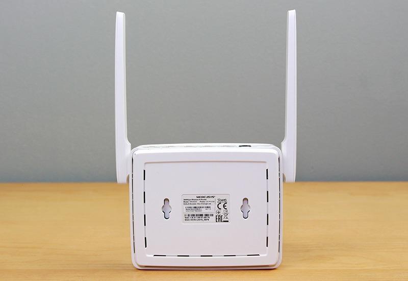 mercusys mw305r - bo phat wifi khong day toc do 300mbps, 2 ang ten 11
